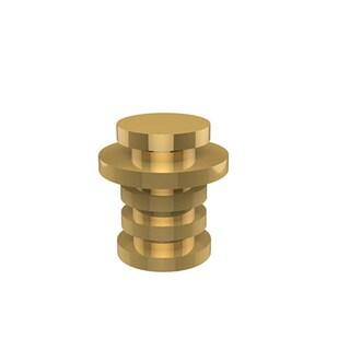 Allied Brass Clear Brass Designer Cabinet Knob