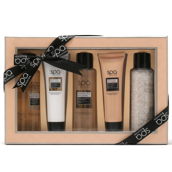 Style and Grace Spa Tranquil Bath and Body Treats Gift Set