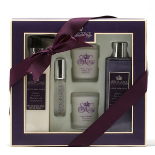 Style and Grace Timeout Bath Experience Gift Set
