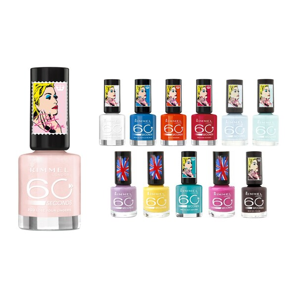 Rimmel London 60 Seconds 12-piece Nail Polish Set