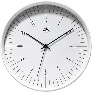 Infinity Instruments Bel Air White Clock