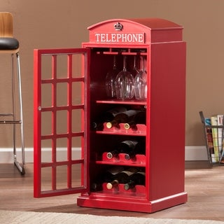 Upton Home Nigel Phone Booth Wine Cabinet