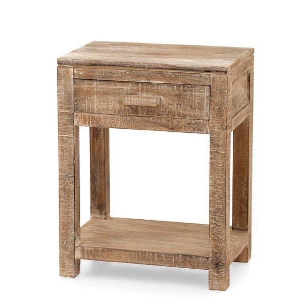 Urban Port 1-drawer End Table