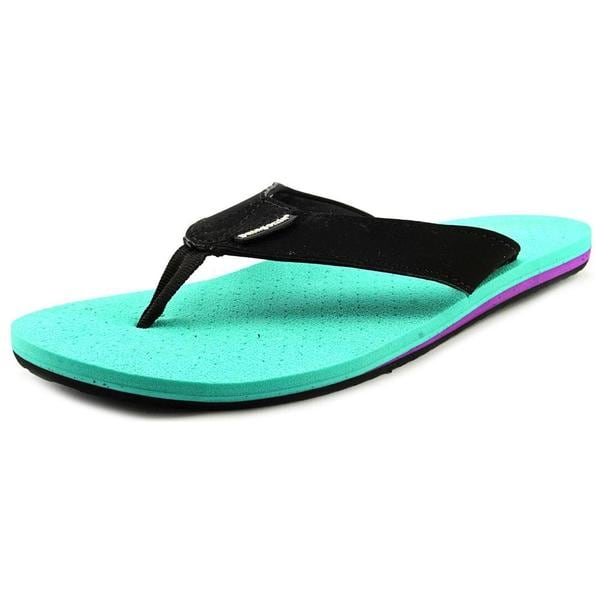 Patagonia Women's Reflip Green Synthetic Flip Flop Sandals