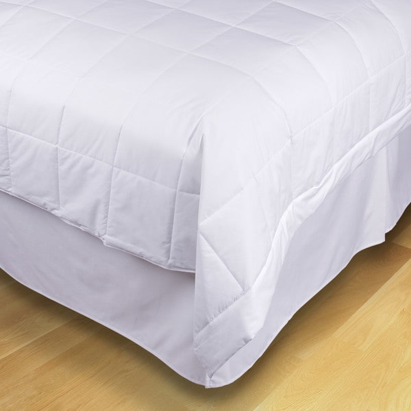 EcoPure Cotton Down Alternative Comforter filled with Recycled Fiber