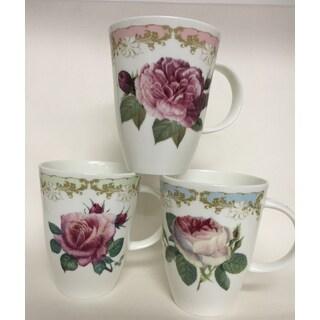 Roy Kirkham Louise Mug - Vintage Roses Set of 6