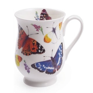 Roy Kirkham Eleanor Mug Butterfly Garden (Set of 6)