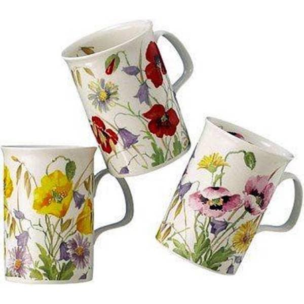 Roy Kirkham Lancaster Mug - English Meadow Set of 6