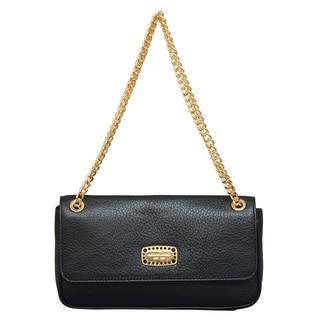 Michael Kors Jet Set Jewel Small Black Shoulder Handbag