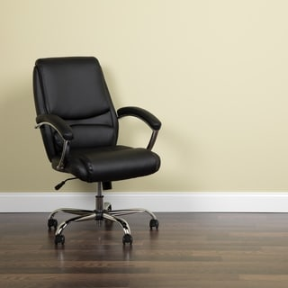 Essentials by OFM Ergonomic High-Back Leather Executive Office Chair with Arms