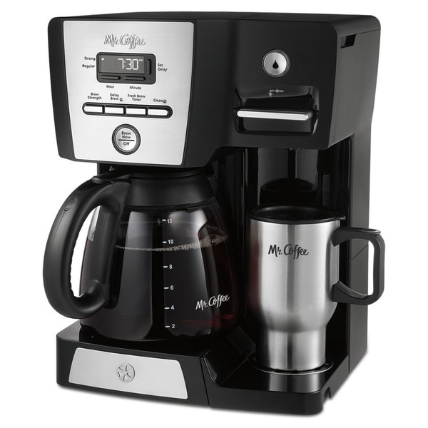 Mr. Coffee 12-cup Versatile Brew Programmable Coffee Maker and Hot Water Dispenser 19210144