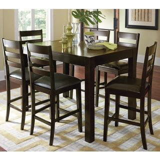 Progressive Amini Espresso Veneer/Rubberwood Butterfly Counter Table