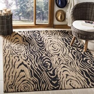 Safavieh Martha Stewart Collection Coffee/ Black Rug (2' 7 x 5')