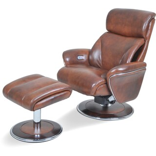 Cozzia AC510 Ergonomic Chair and Ottoman