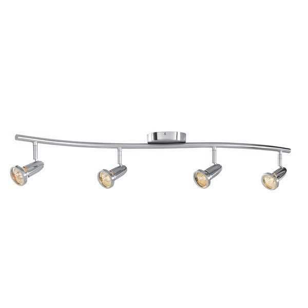 Access Lighting Cobra 4 Light LED Wall/Ceiling Semi-flush Spotlight Bar