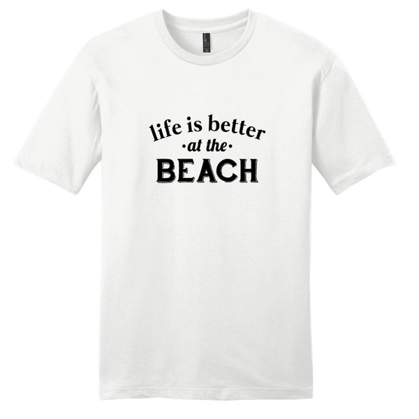 'Life is better at the Beach' Unisex T-shirt 19213632