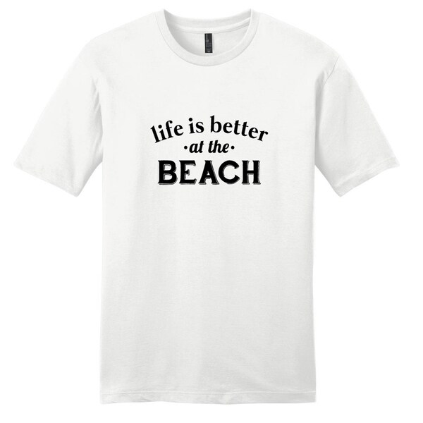 Life is better at the Beach' Unisex T-shirt 19213635