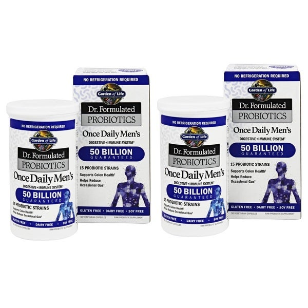 Garden of Life Dr. Formulated Once Daily Men's Probiotics (30 Veggie Caps)
