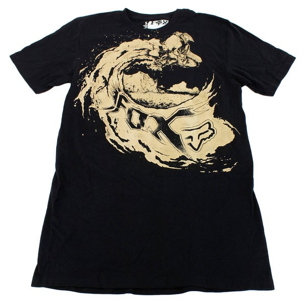 Fox Boys' Black Cotton Size S US T-shirt