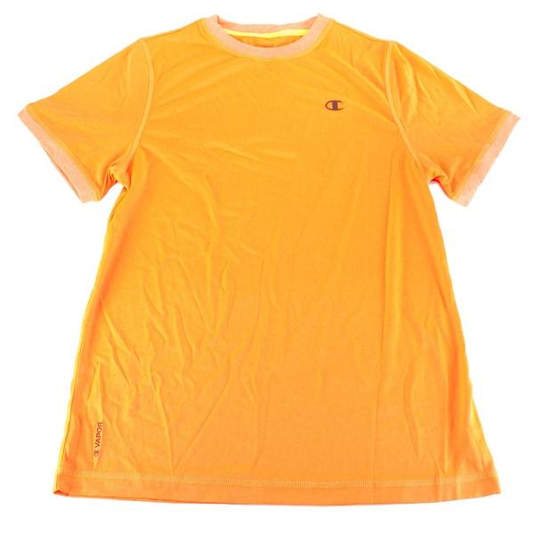 Champion Boys Orange Polyester Top