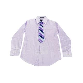 Nautica Boys Purple Dress Shirt