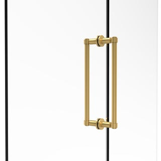 Allied Brass Contemporary 12-inch Back-to-back Shower Door Pull