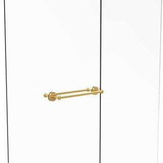 Allied Brass Prestige Skyline Collection Brass 18-inch Back-to-back Shower Door Towel Bar