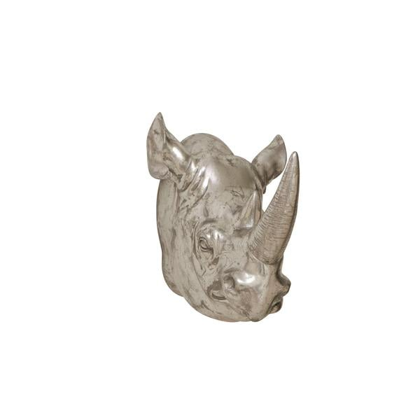 Polystone Rhino Trophy Head