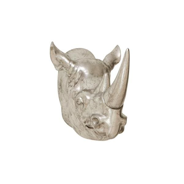 Stone Rhino Trophy Head