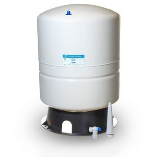 iSpring #T11M 11G NSF Metal/Rubber Reverse Osmosis Water Storage Tank with Tank Valve Adapter