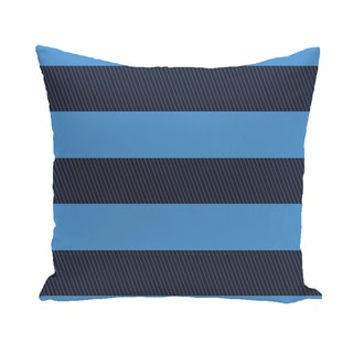 16 x 16-inch Windward Stripes Print Outdoor Pillow