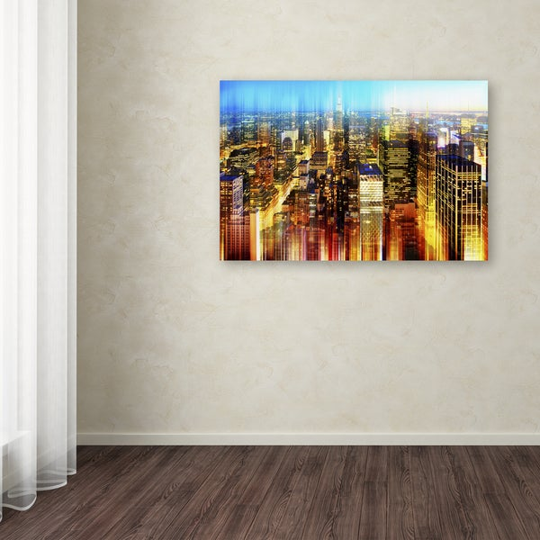 Philippe Hugonnard 'Urban Stretch NYC X' Canvas Art