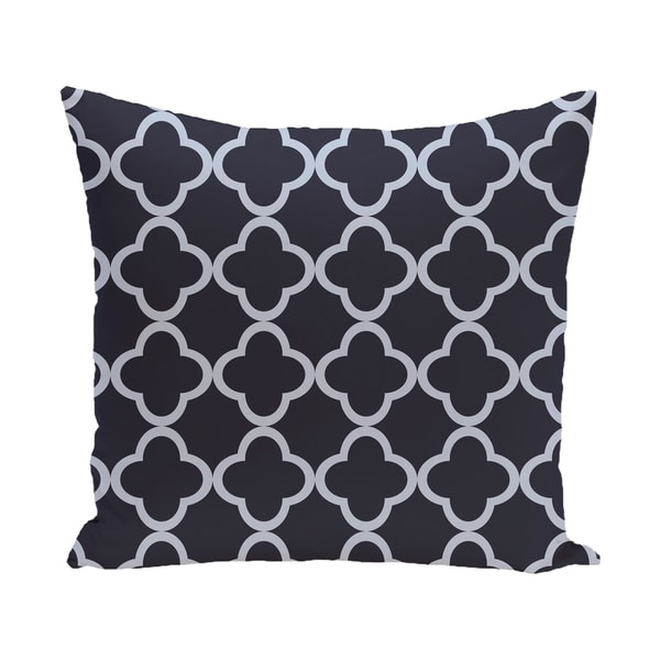 16 x 16-inch Marrakech Express Geometric Print Outdoor Pillow