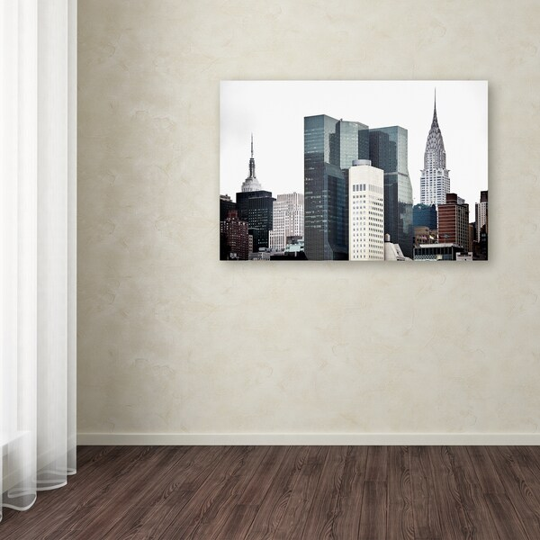 Philippe Hugonnard 'New York Architecture' Canvas Art