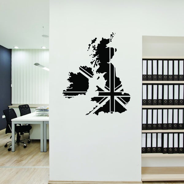 Style & Apply Great Britain Vinyl Wall Decal and Sticker Mural Art Home Decor