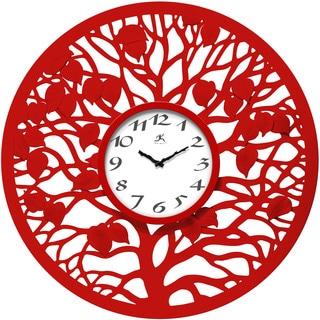 Red Oak 31-inch Wall Clock