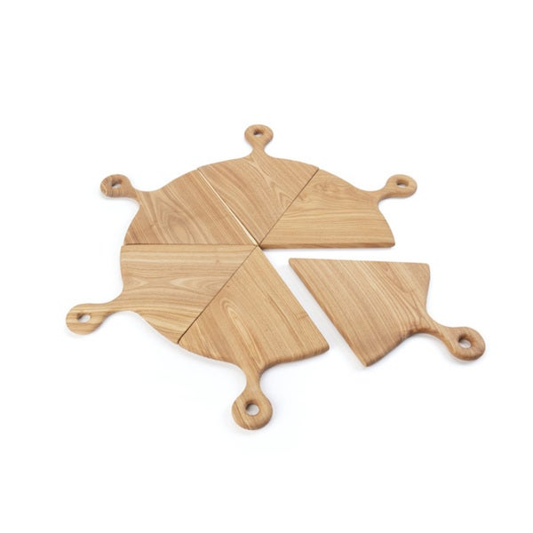 Hip Vintage Pizza Boards (Pack of 6)