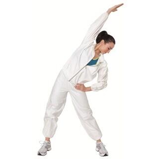 Sportline White Fabric Sauna Suit