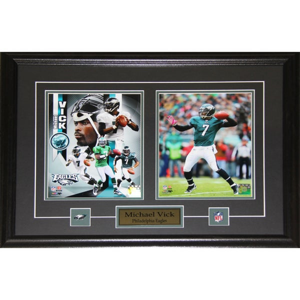 Michael Vick Philadelphia Eagles 2-photo Frame