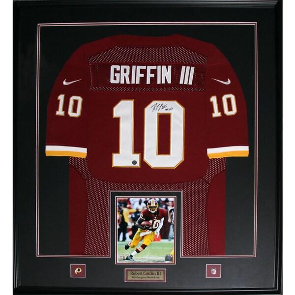 Washington Redskins Robert Griffin III Framed Signed Jersey