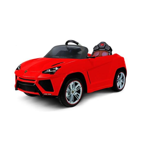 Best Ride On Cars Children's Red Lamborghini Urus 12-volt Car 19220423