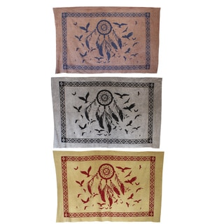 Navajo Dream Catcher Tapestry Wall Hanging (India)