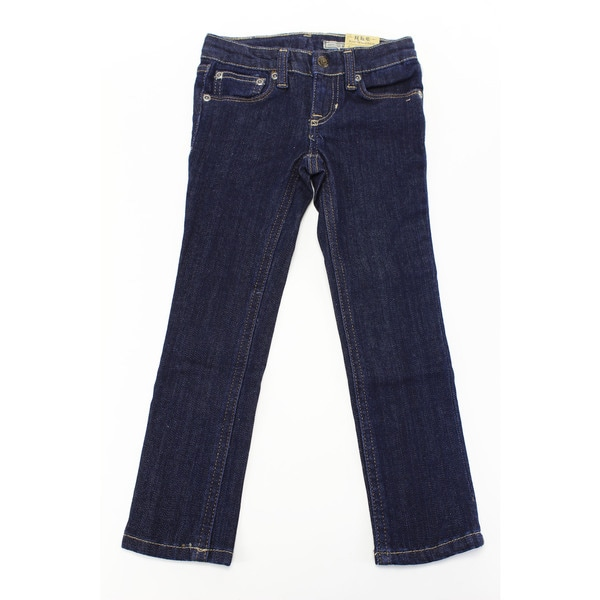 Ralph Lauren Baby Girl's Blue Cotton Jeans