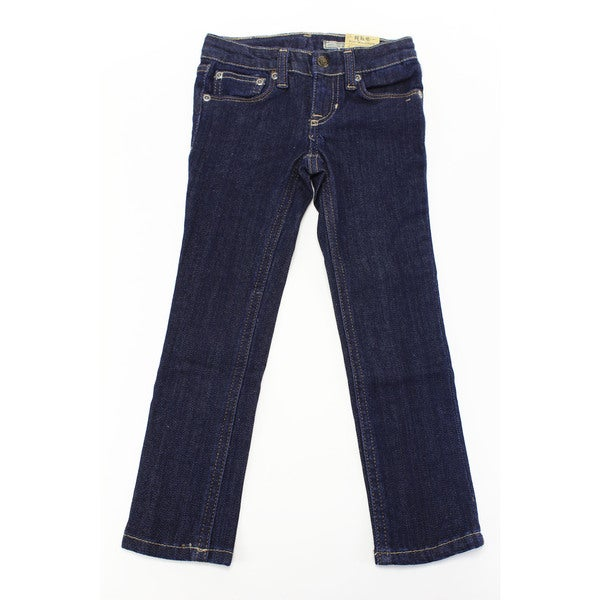 Ralph Lauren Baby Girl's Blue Cotton Jeans 19220756