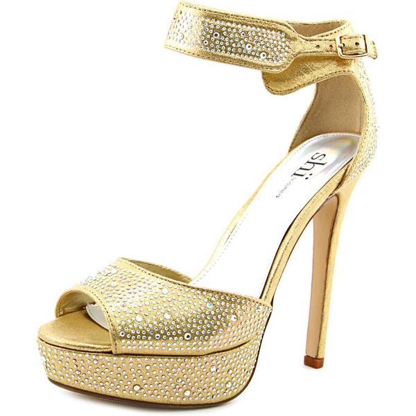 Women's Gala Gold Platform Shoes