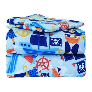 Pirate Twin Bed Sheet Set