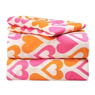 Hearts Galore Twin Bedding Set