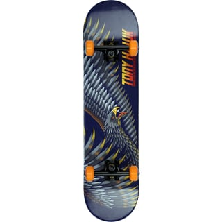 Tony Hawk Wing Span Maple Wood 31-inch Double Trick Kick Popsicle Skateboard
