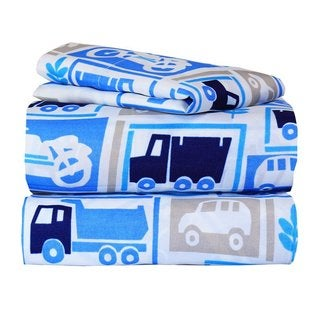 Cars Galore Twin Sheet Set