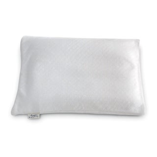 Bucky Buckwheat White Fabric Travel Bed Pillow
